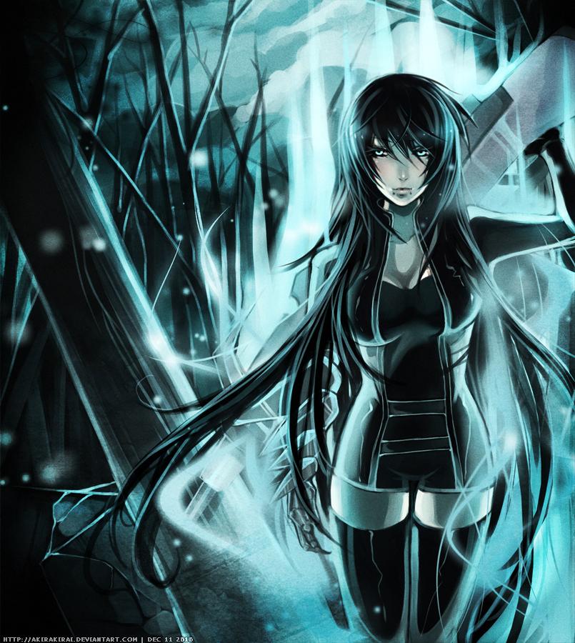 Gothic anime wallpaper wallpapersafari - Portrait anime wallpaper ...