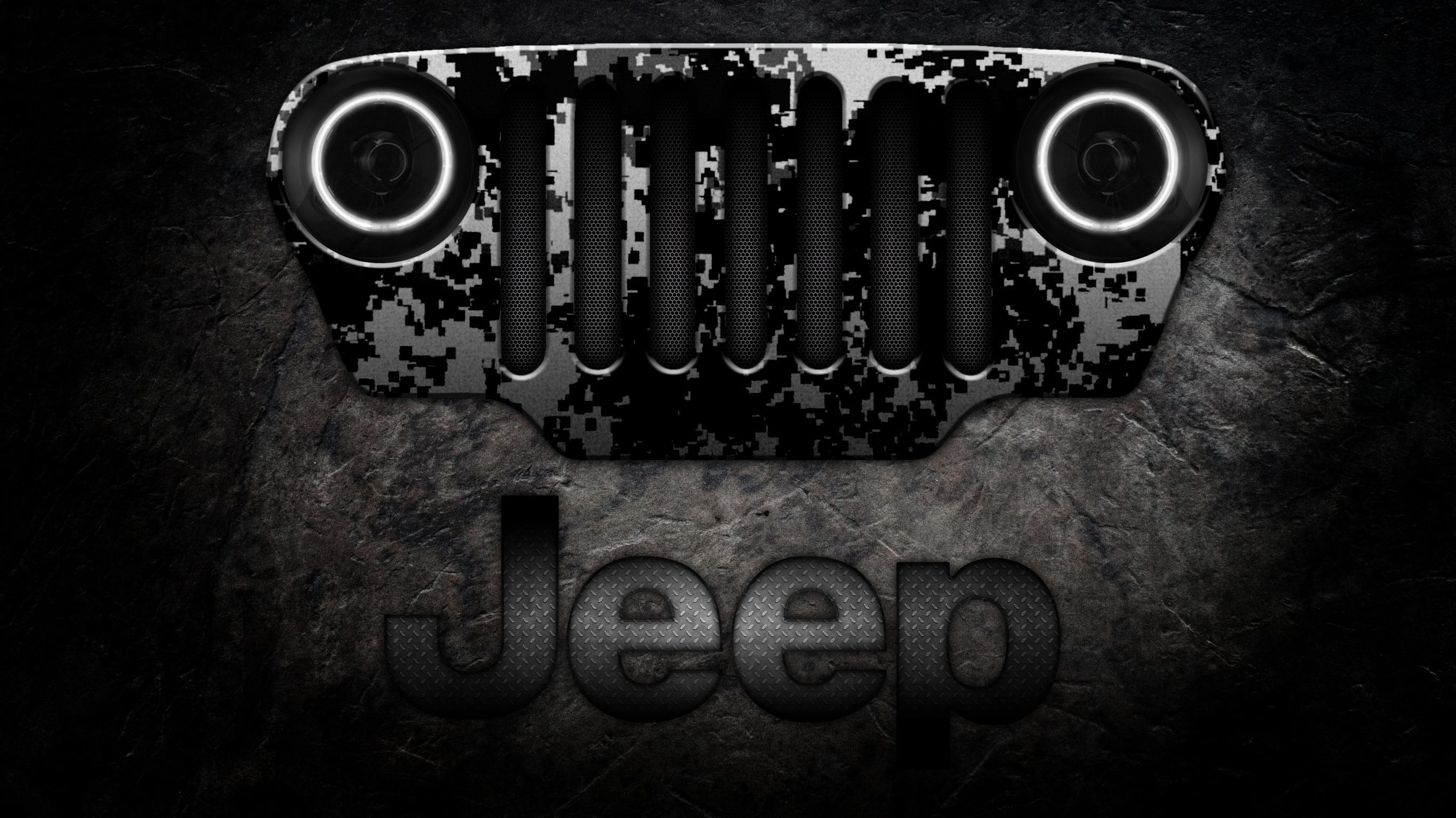 Jeep Logo Wallpapers 2732x1536