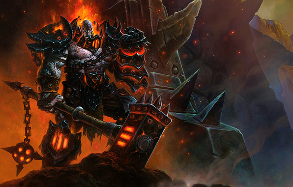 warlord blackrock clan world of warcraft wallpapers games   download 596x380