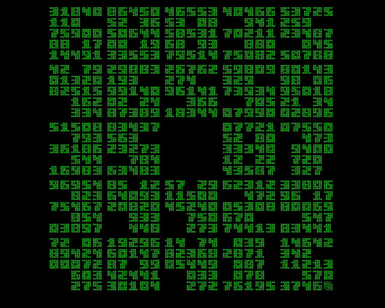 Pixel Fractal Wallpaper Killed By A Pixel 1280x1024