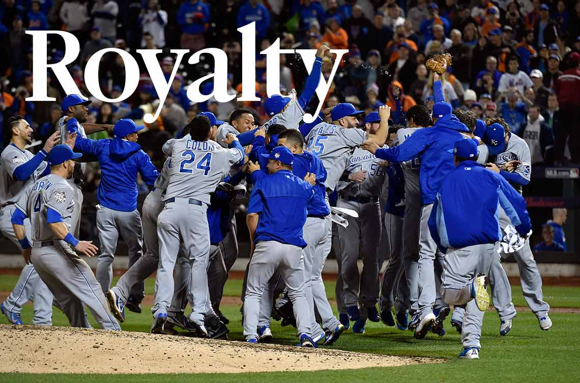 Kansas City Royals Wins World Series