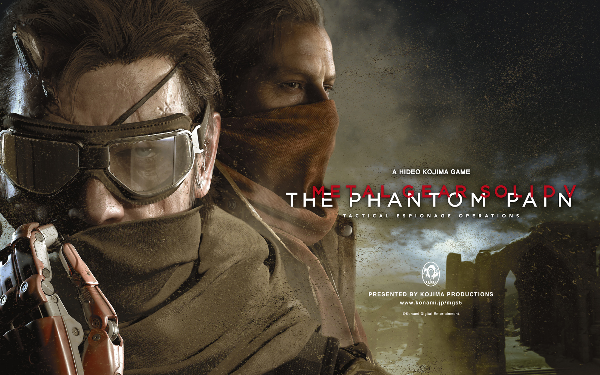 Metal Gear Solid V The Phantom Pain Wallpapers HD Wallpapers 1920x1200