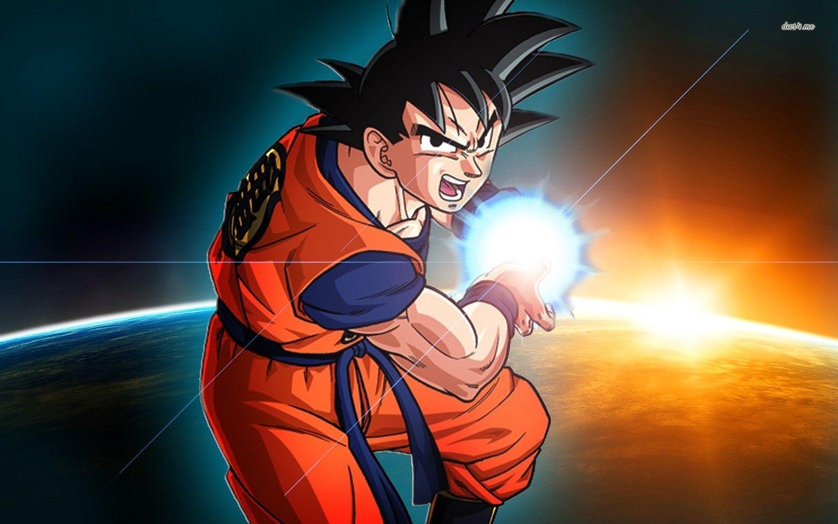 76 ] Dragon Ball Z Wallpapers Goku On WallpaperSafari