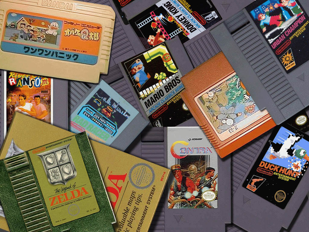 NES Wallpaper by xclonex 1024x768