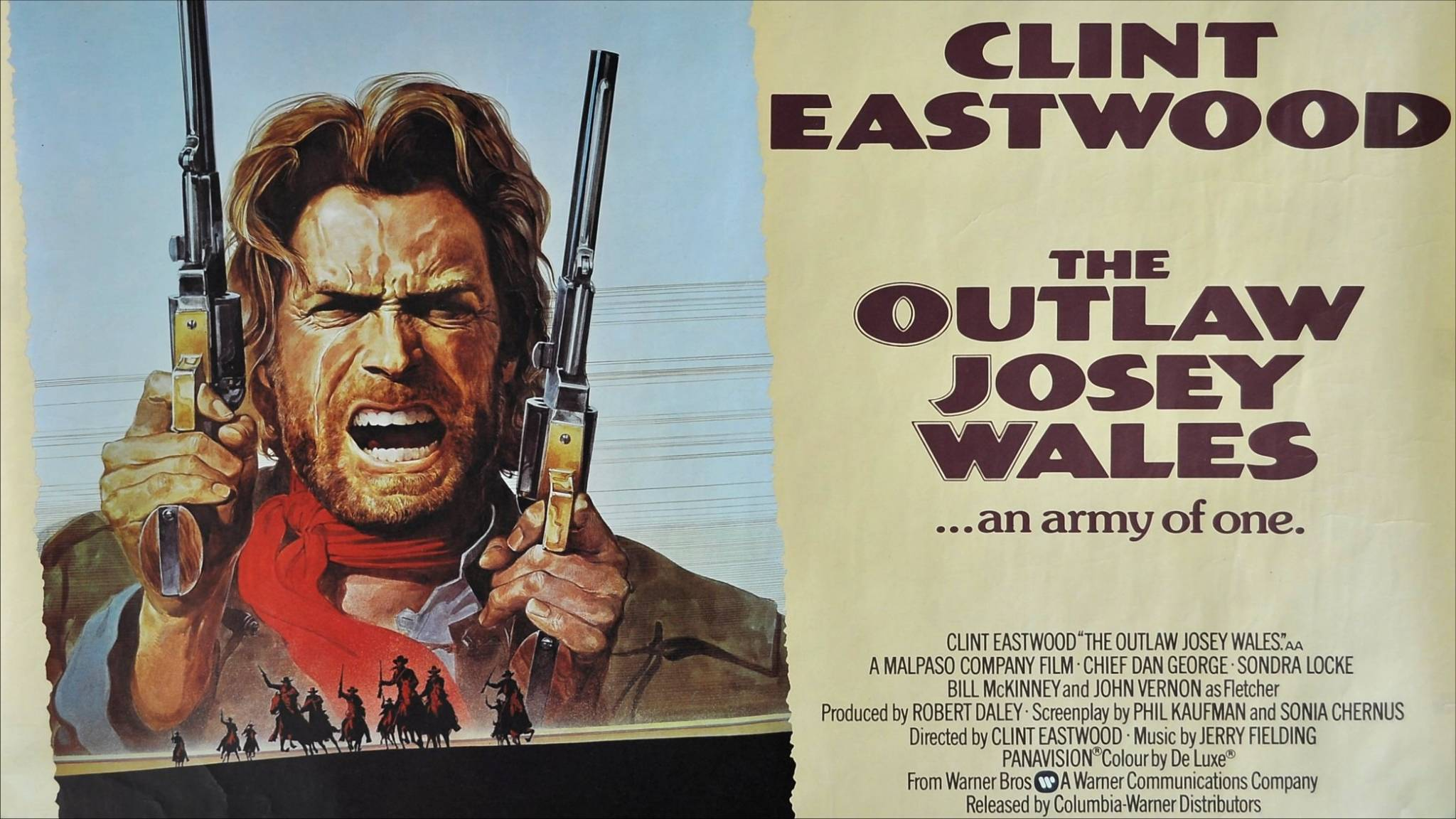 The Outlaw Josey Wales Poster Poster for The Outlaw Josey Wales 2048x1152