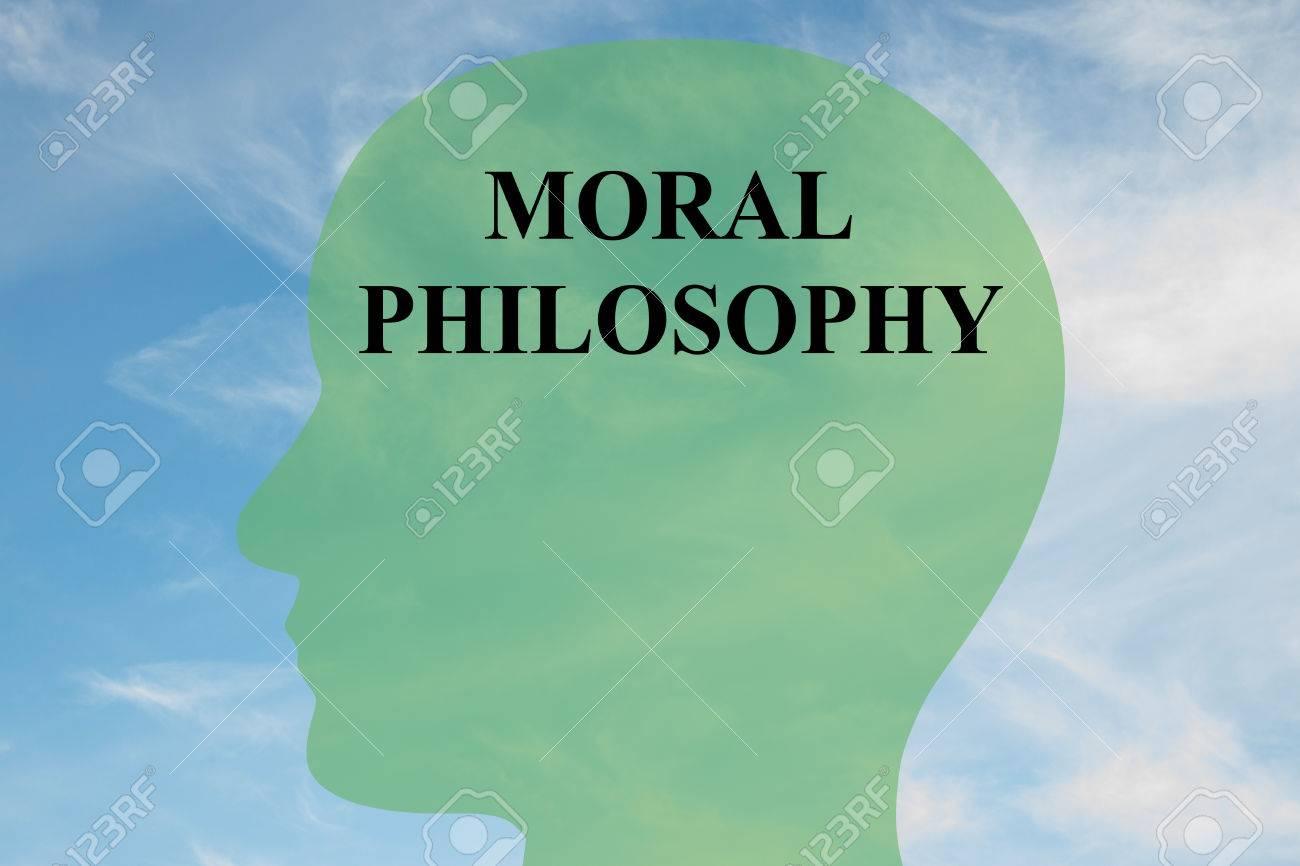 Render Illustration Of MORAL PHILOSOPHY Script On Head 1300x866