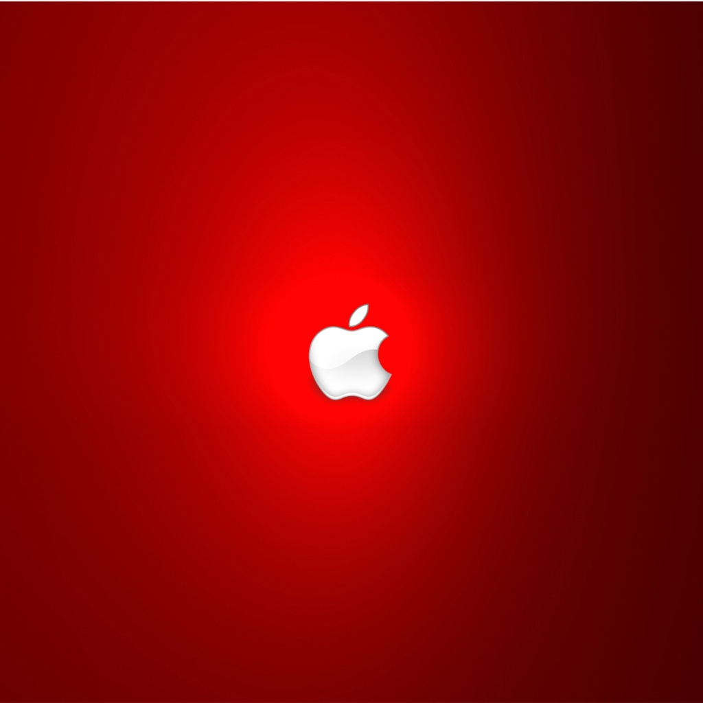 Strong Red Apple Logo 1024x1024 Wallpapers 1024x1024 Wallpapers 1024x1024