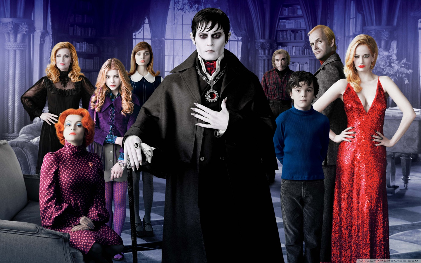 DARK SHADOWS Promo Images Make Me Smile 1440x900