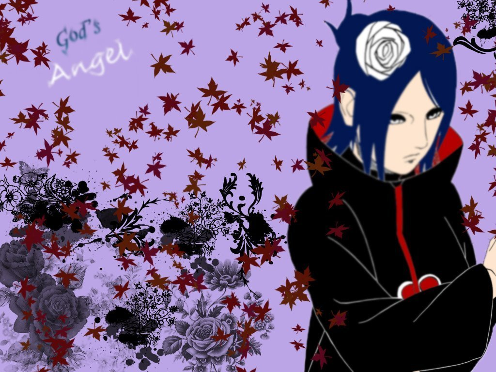 Konan Akatsuki Wallpaper - WallpaperSafari