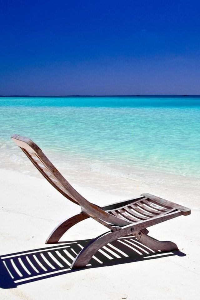 Beach Chair Wallpaper Wallpapersafari