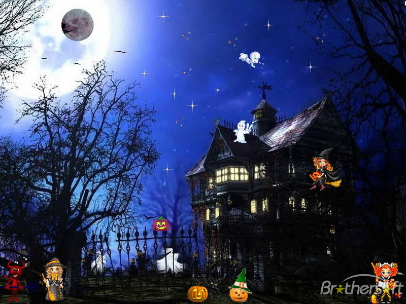 Download Happy Halloween Screensaver Happy Halloween Screensaver 800x600