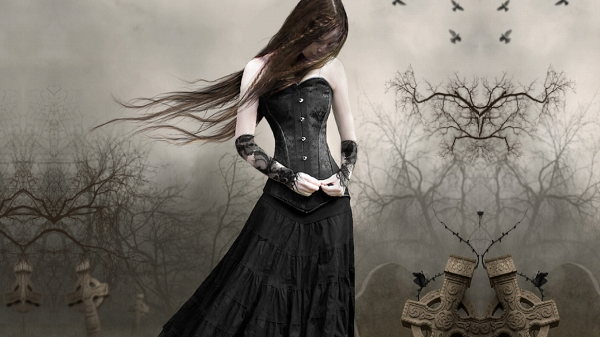 Download Dark Gothic Wallpaper 1920x1080 Wallpoper 222599 1920x1080