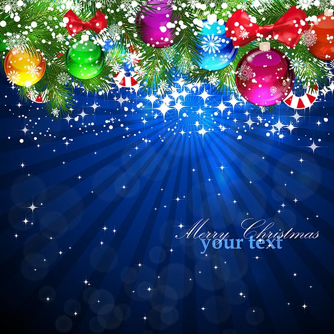 merry Christmas background 10021 Vector merry Christmas background 660x660