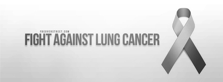 Fight Against Lung Cancer Wallpaper 850x315