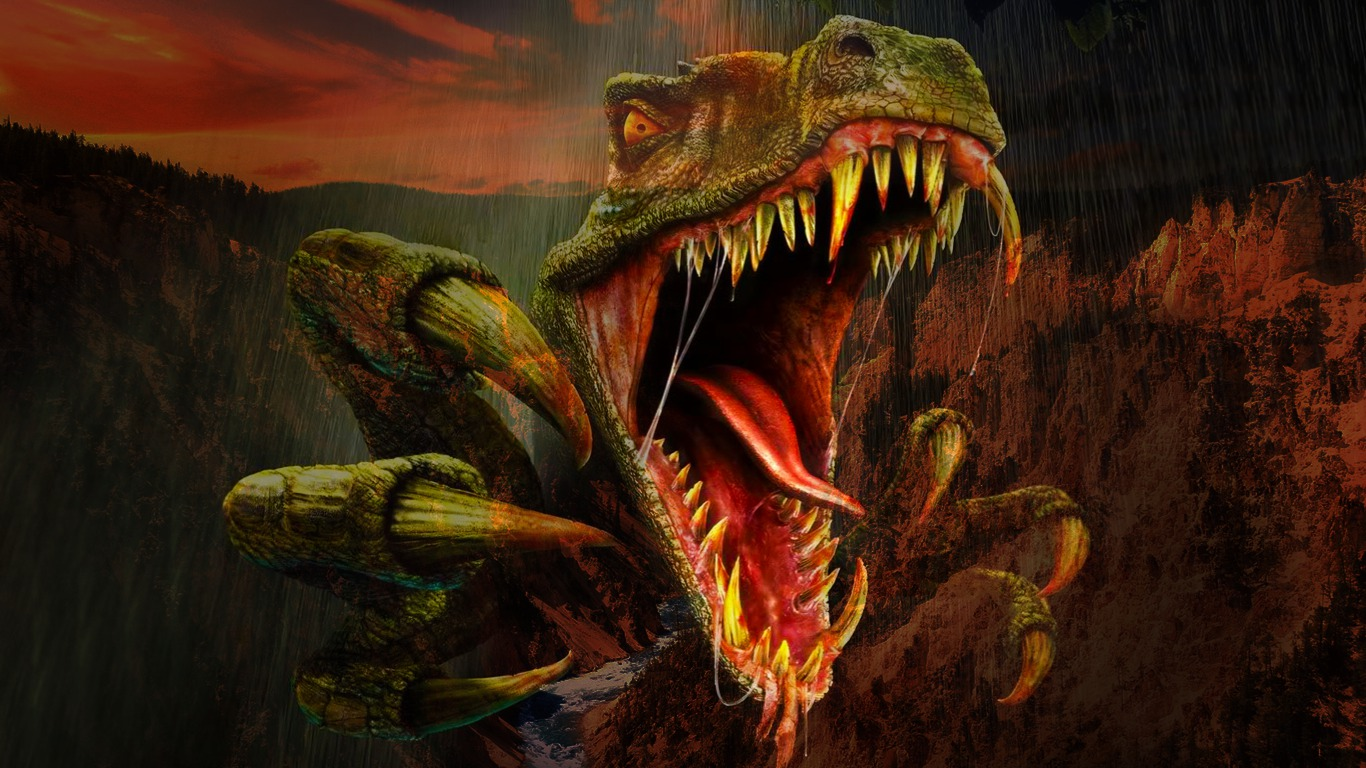 50] Dinosaur Wallpaper Downloads on WallpaperSafari 1366x768