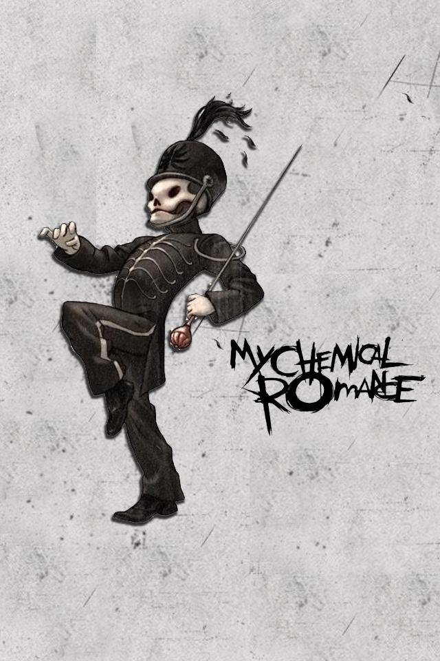 My Chemical Romance Iphone Wallpaper Wallpapersafari