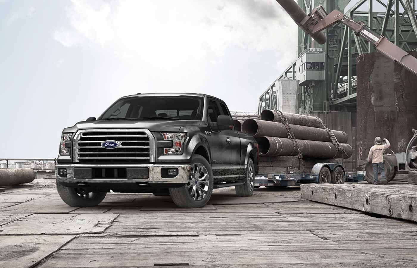 2015 Ford F 150 HD Background Wallpapers 1400x900