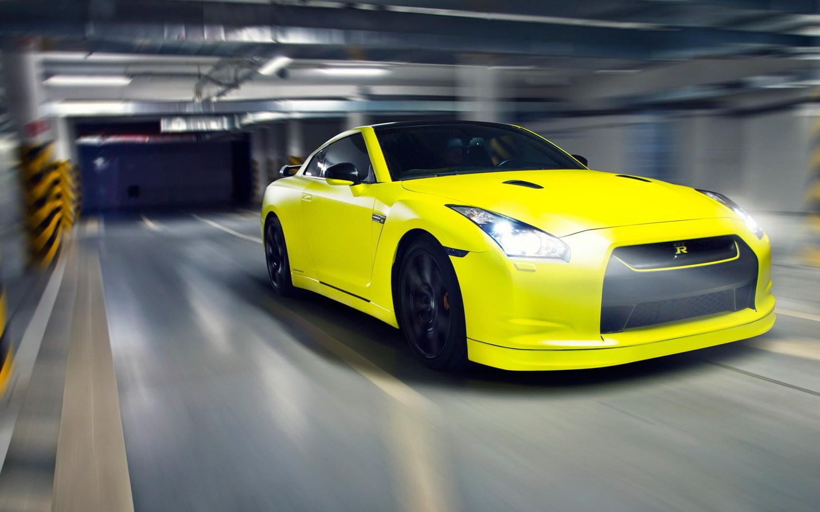 Yellow GTR wallpaper 1680x1050 25926 1680x1050