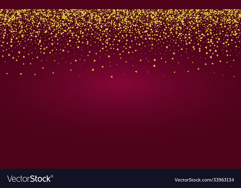 Gold glow light burgundy background glamour Vector Image 1000x780