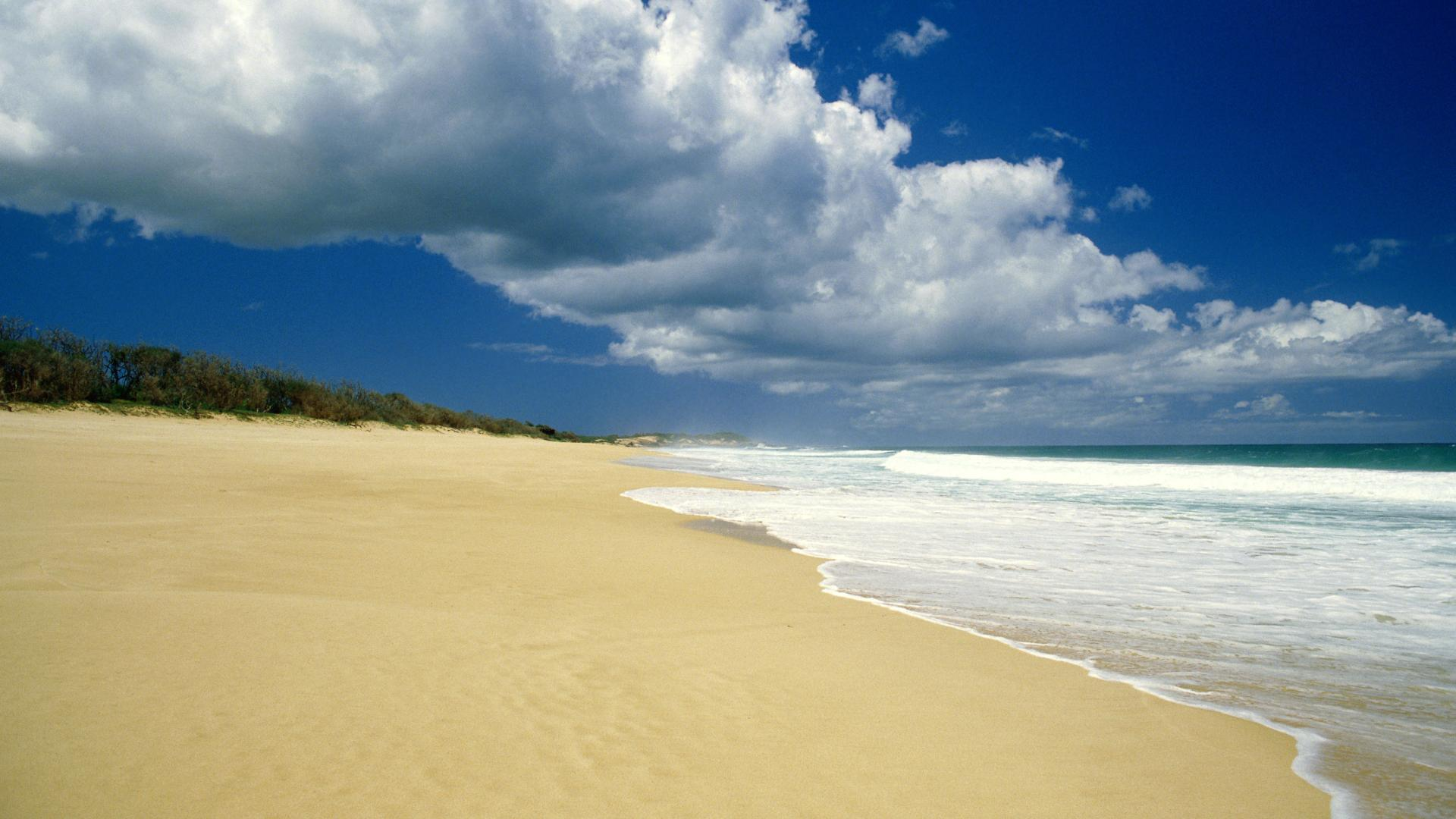 Beach Scenery Wallpaper Wallpapersafari