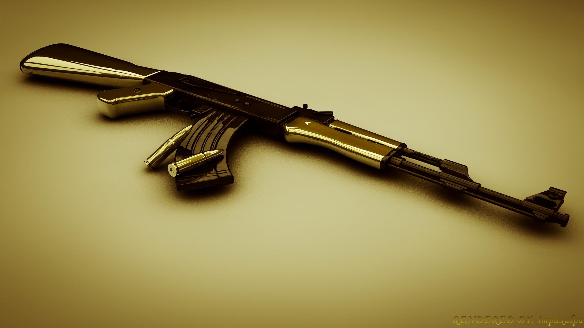 AK 47 Wallpaper by impaxalpa 1920x1080