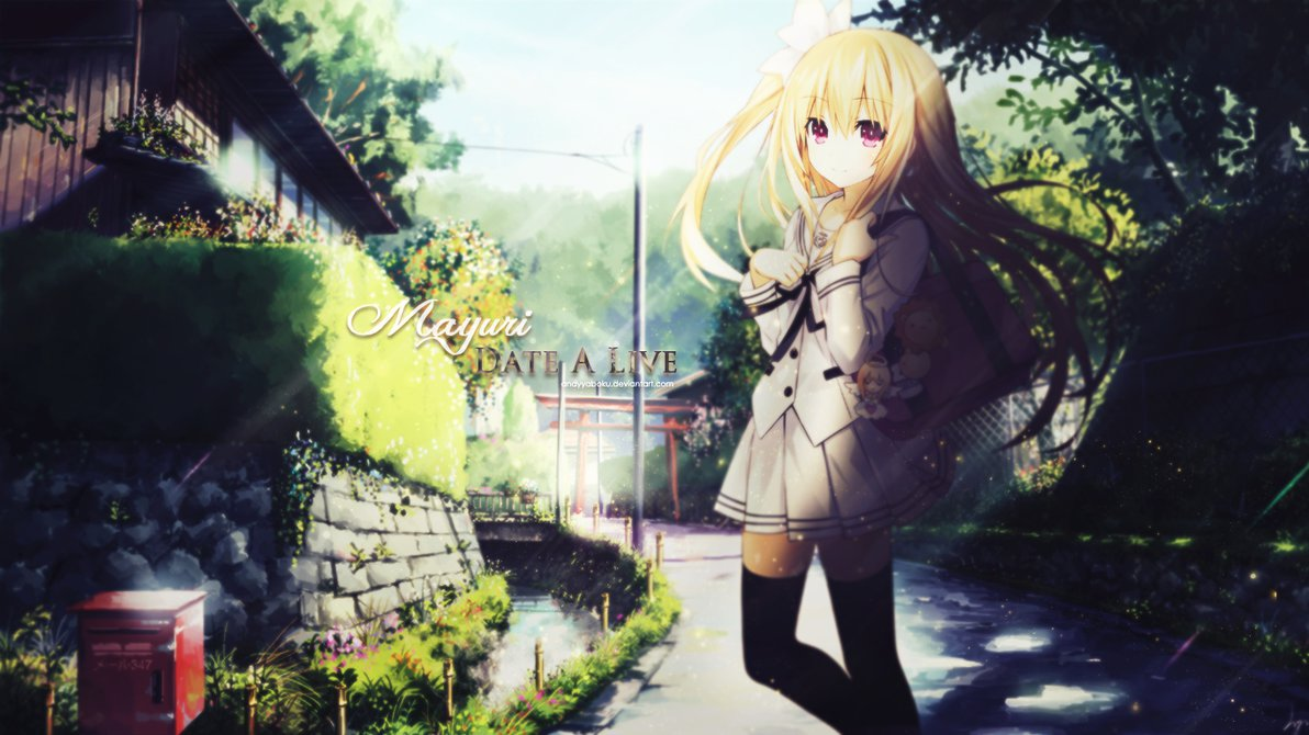 Wallpaper Mayuri Date A Live By AndyYaboku 1192x670