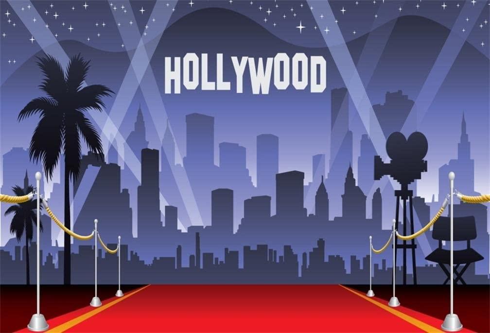 Amazoncom AOFOTO 6x4ft Hollywood Red Carpet Backdrop Movie 1008x686