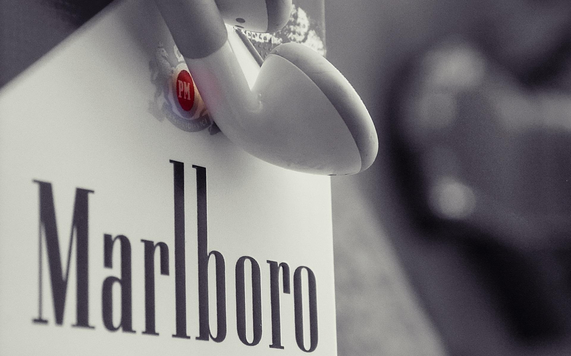 Download Wallpaper Marlboro Cigarettes Marlborough Headphones HD 1920x1200