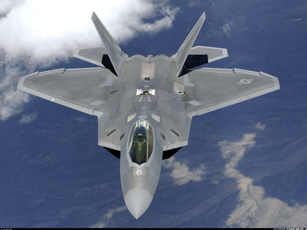 F 22 Raptor HD Wallpapers WallpapersCharlie 1024x768