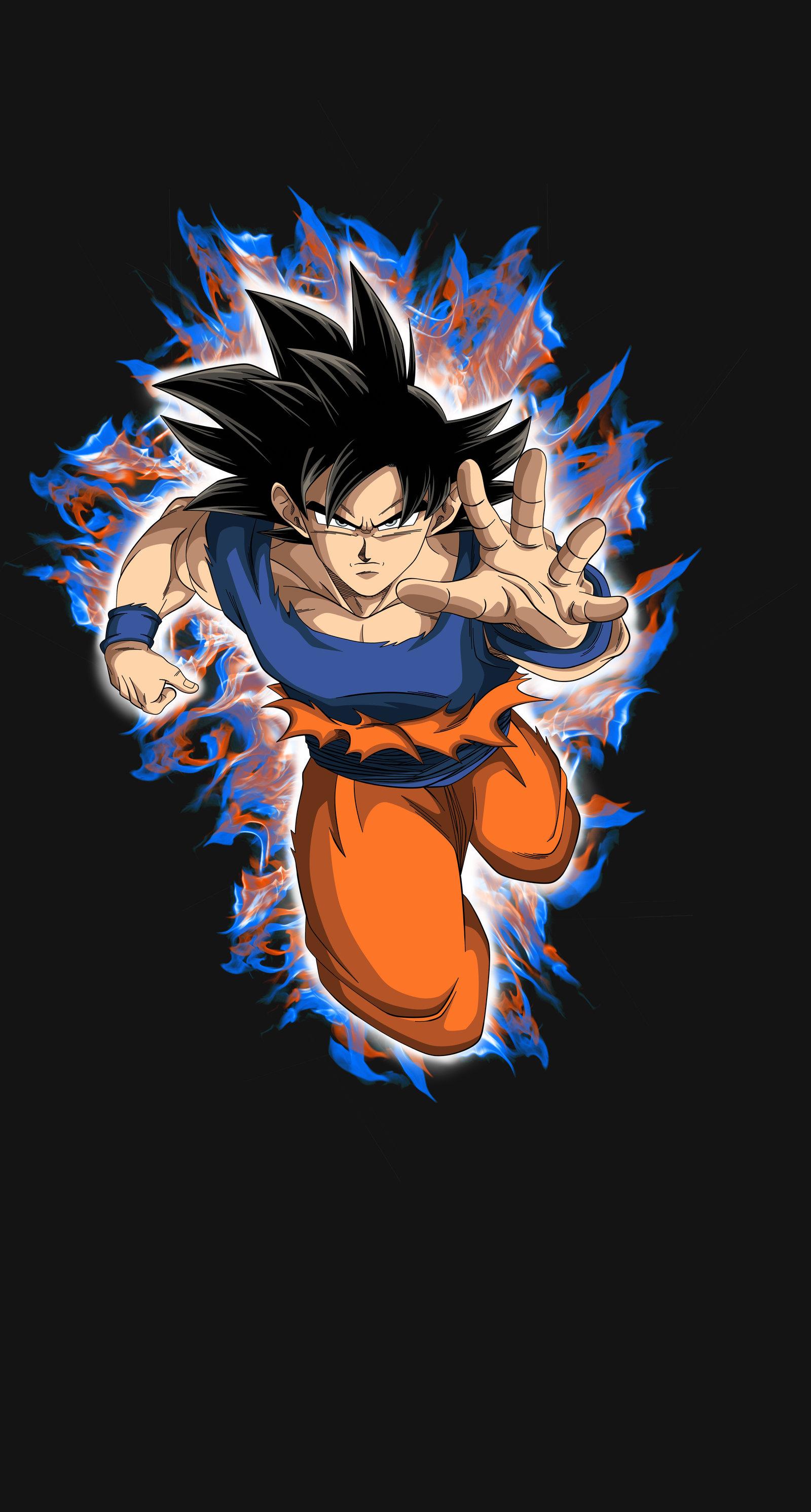 Goku Ultra Instinct by maddness1001 1600x2984