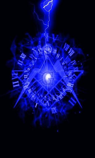 Freemason LWP for android Blue Lightning Freemason LWP 23 download 307x512