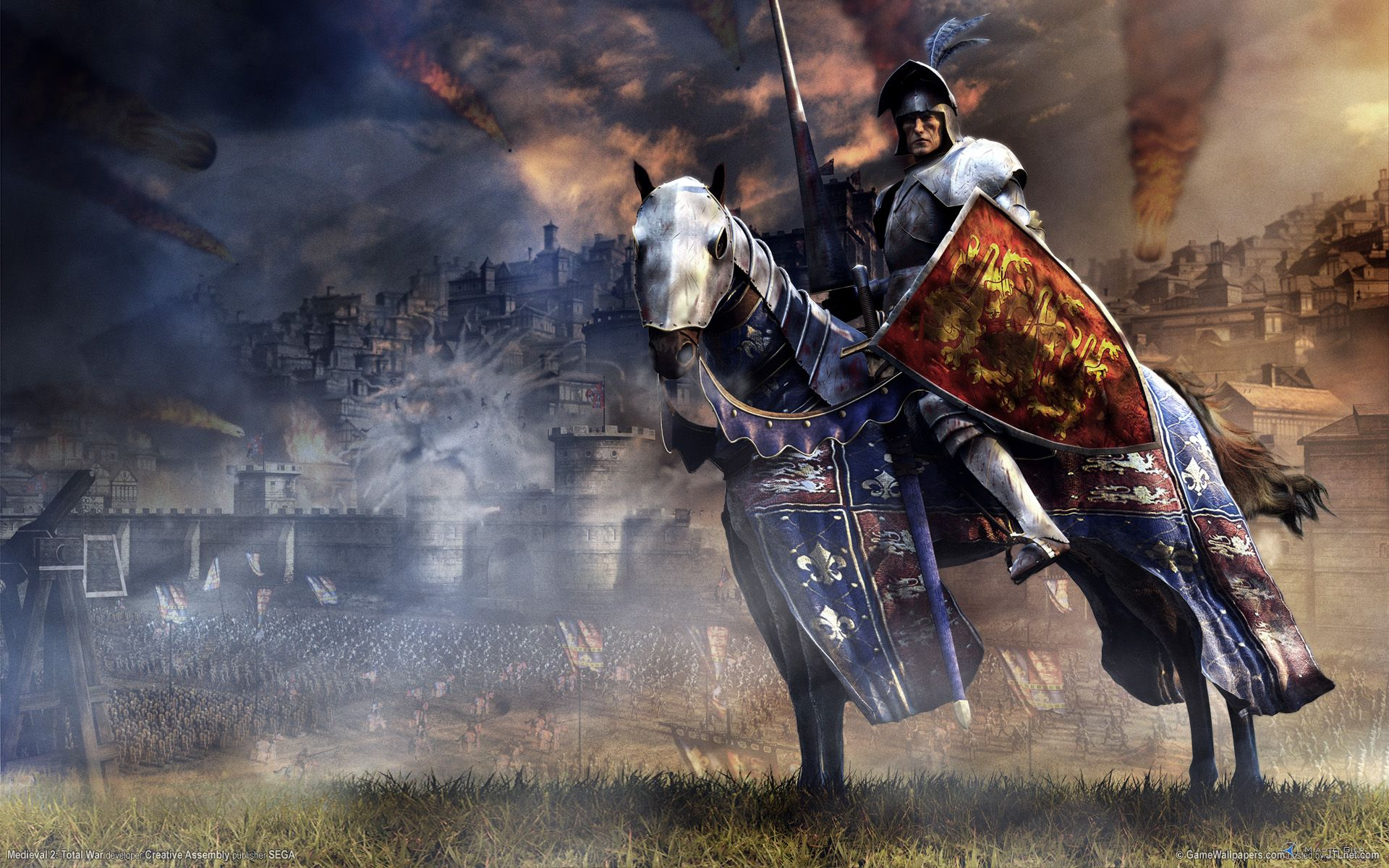 Medieval II Total War PC Medieval 2 Total War PC MiastoGierpl 1920x1200