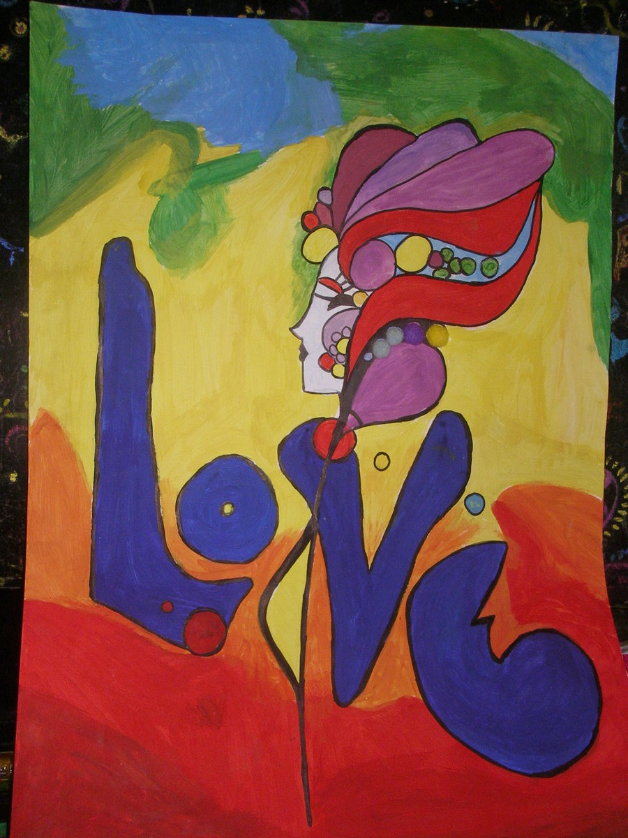 Peter Max Love copy by Luxurychoccie 900x1200