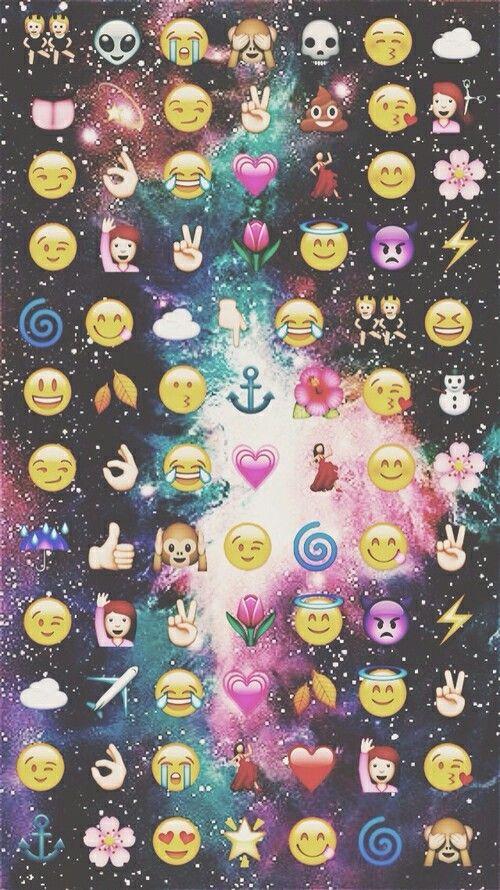 Emoji wallpaper wallpapers Pinterest Emoji Wallpaper Emojis and 500x890