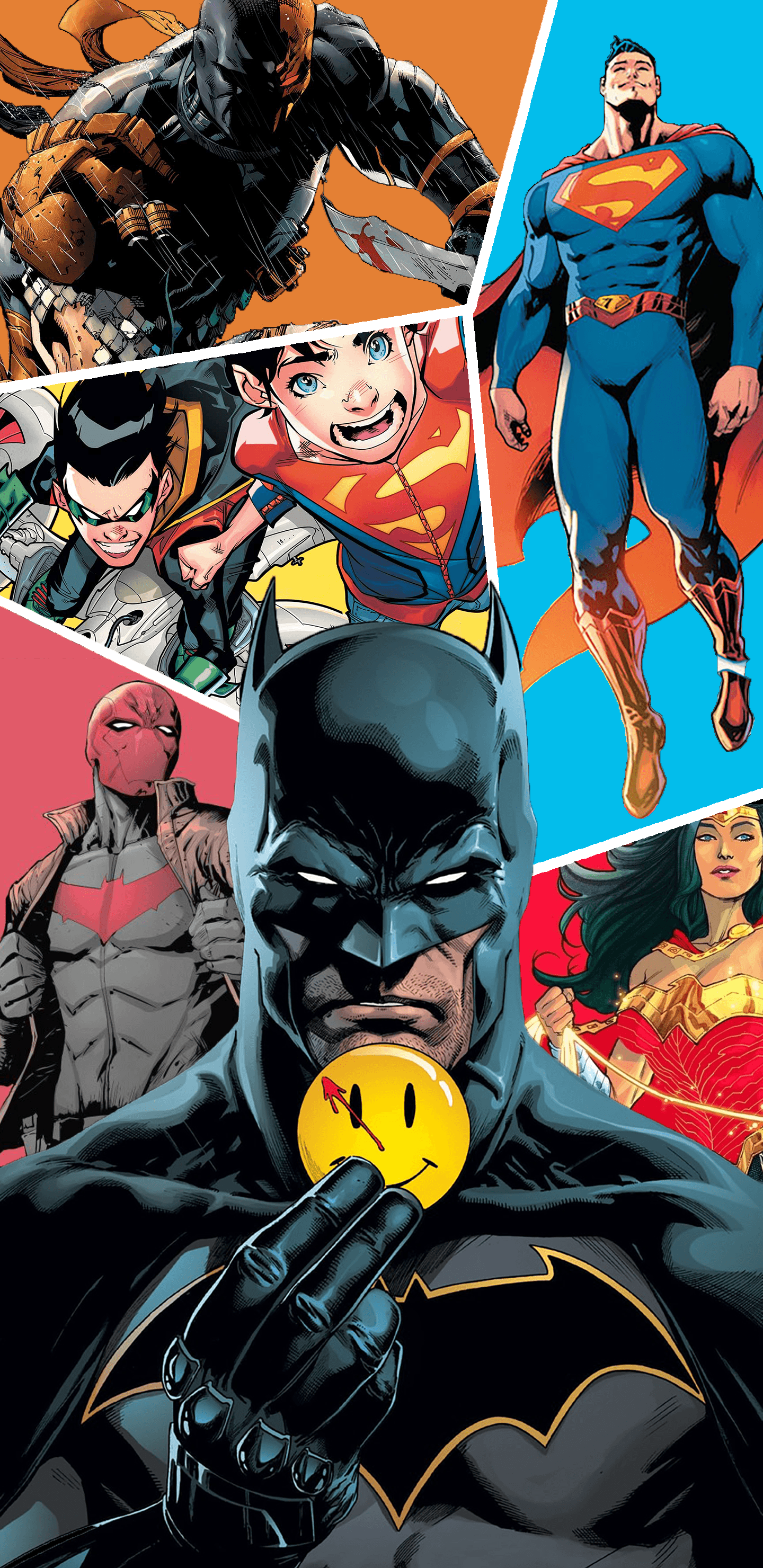 Iphone Batman Rebirth Wallpaper 1440x2960