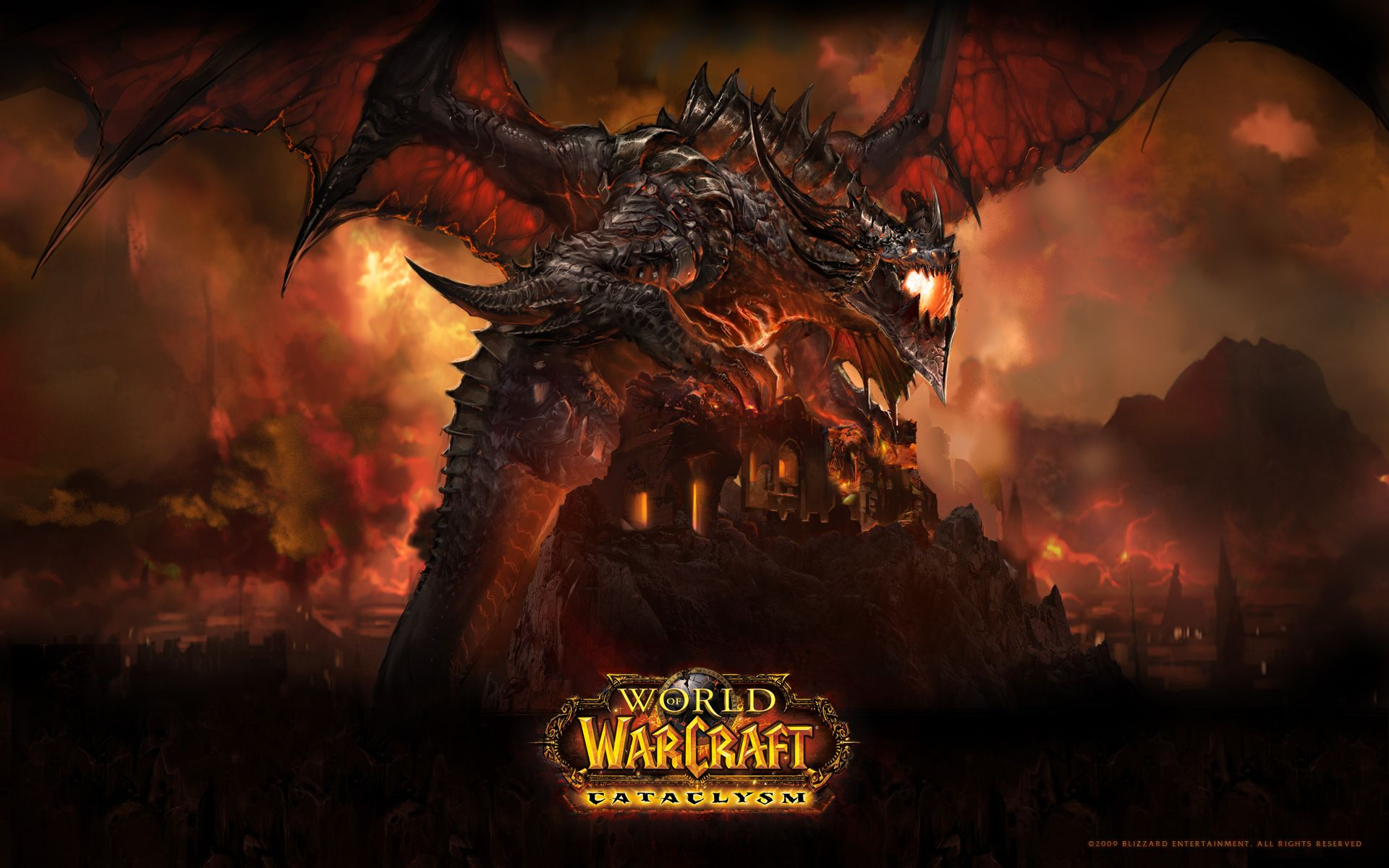 World of Warcraft Cataclysm 1080p Wallpaper World of Warcraft 1920x1200