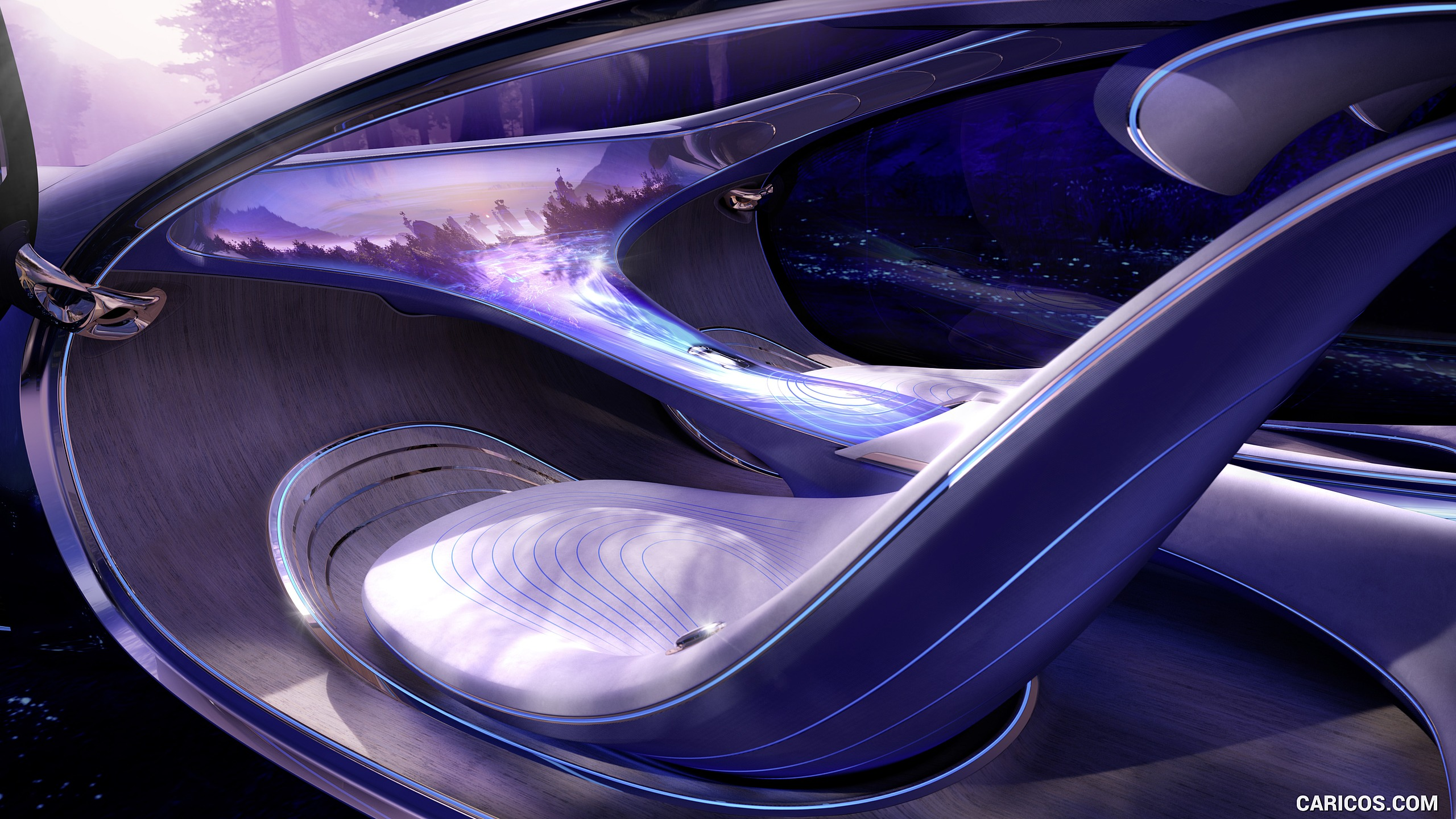 2020 Mercedes Benz VISION AVTR Concept   Interior HD Wallpaper 33 2560x1440