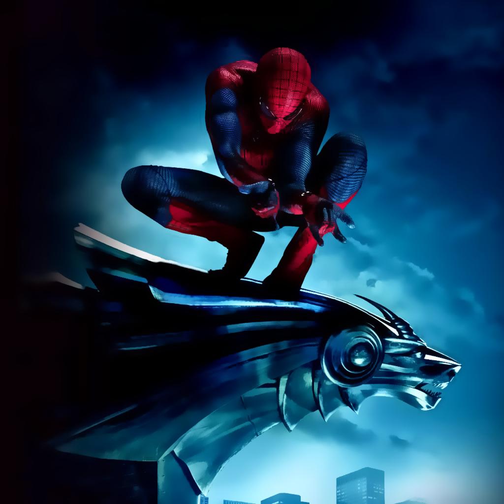 My Ipad Mini Wallpaper Hd Amazing Spiderman 1024x1024 pixel Sports 1024x1024