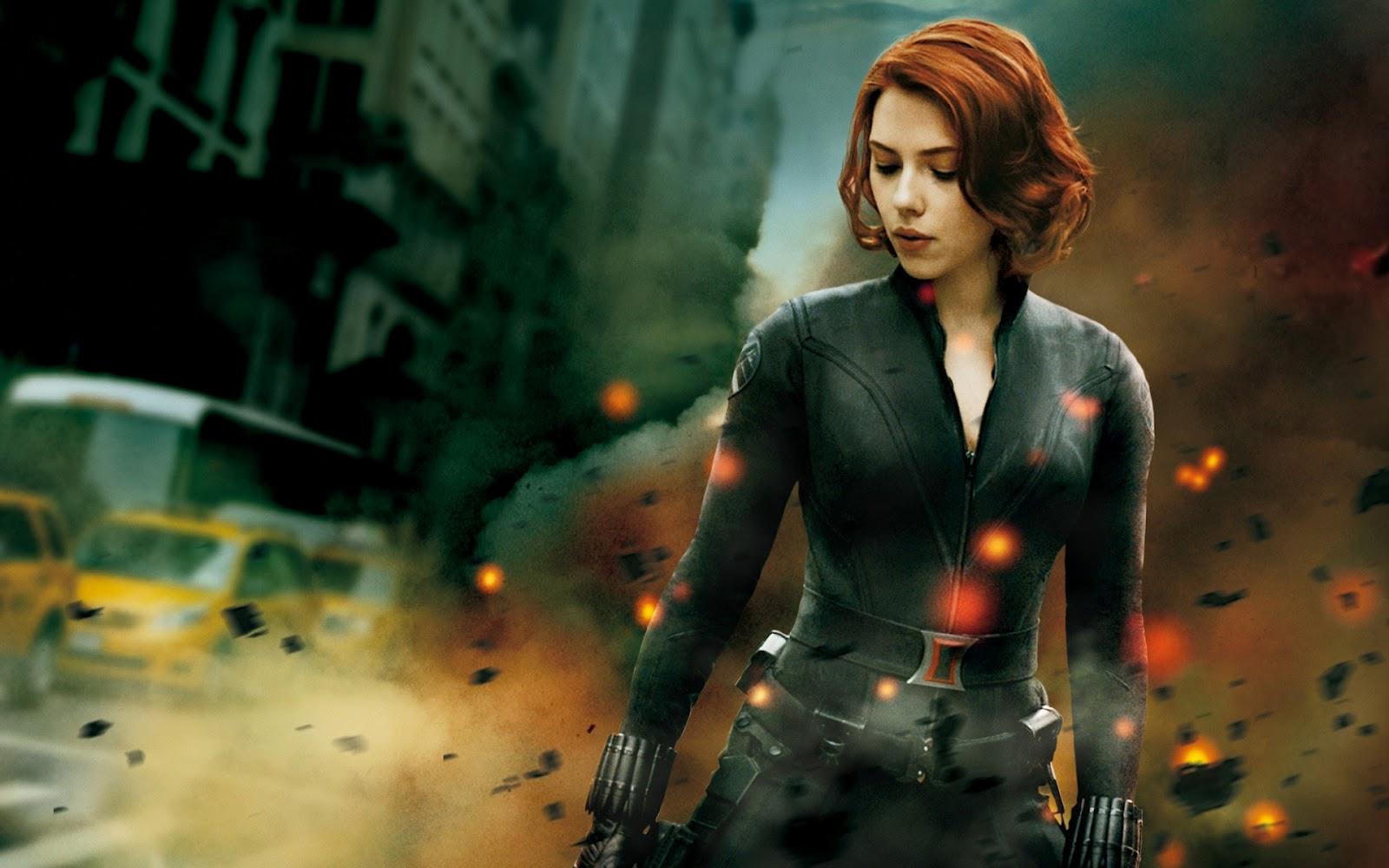 Johansson as Black Widow HD Wallpapers Download Wallpapers 1600x1000