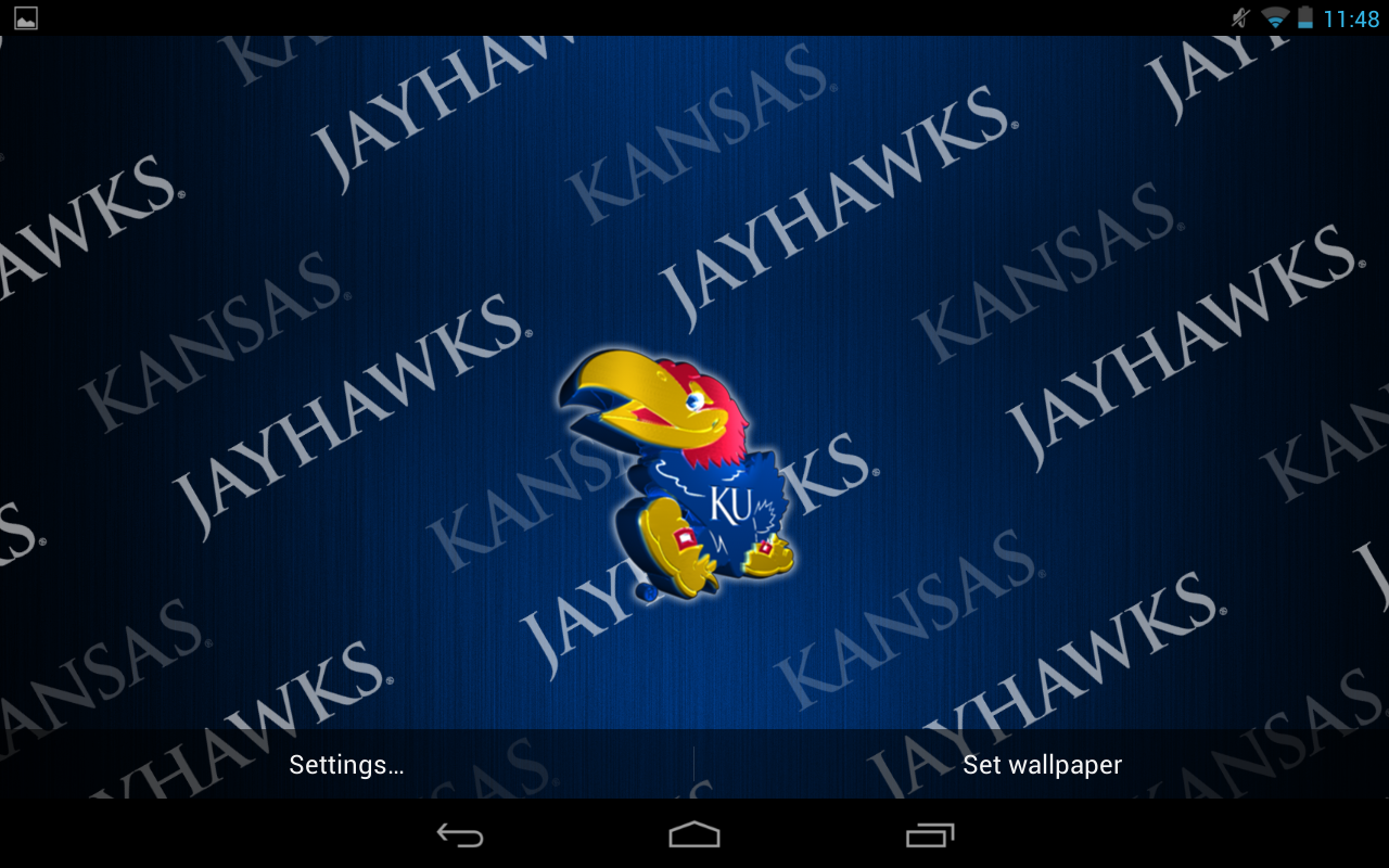 Kansas Jayhawks Live Wallpaper   Android Apps on Google Play 1280x800