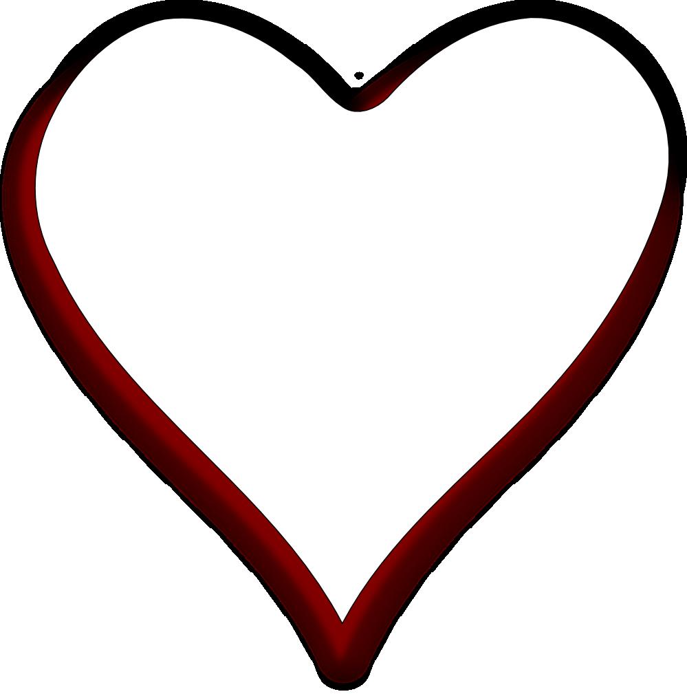 transparent black heart - 999×1009