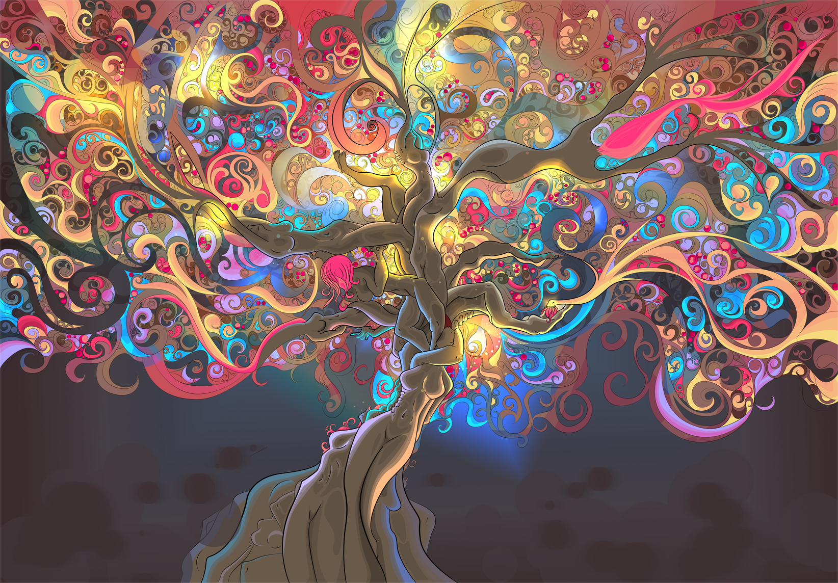 520 Psychedelic HD Wallpapers Backgrounds 1644x1144