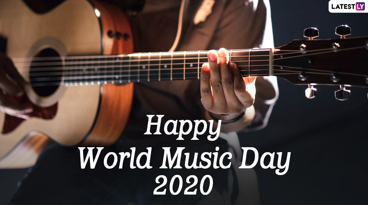 World Music Day 2020 Wishes HD Images WhatsApp Stickers GIF 1200x667
