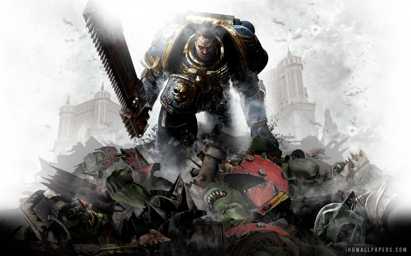 Warhammer 40000 Space Marine HD Wallpaper   iHD Wallpapers 1440x900