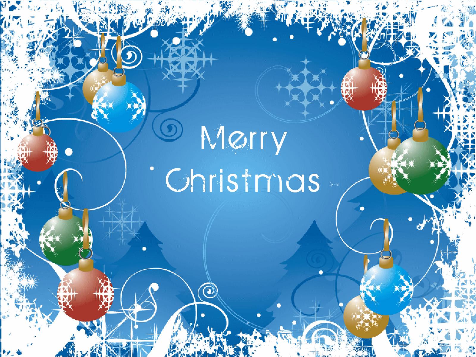 Greetings Card Wallpapers Desktop Merry Christmas Wallpapers 1600x1200