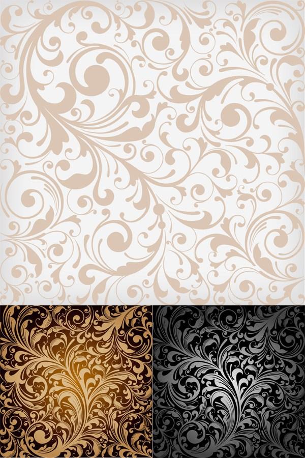 Wallpaper of Europe type decorative pattern Pattern vector 600x900