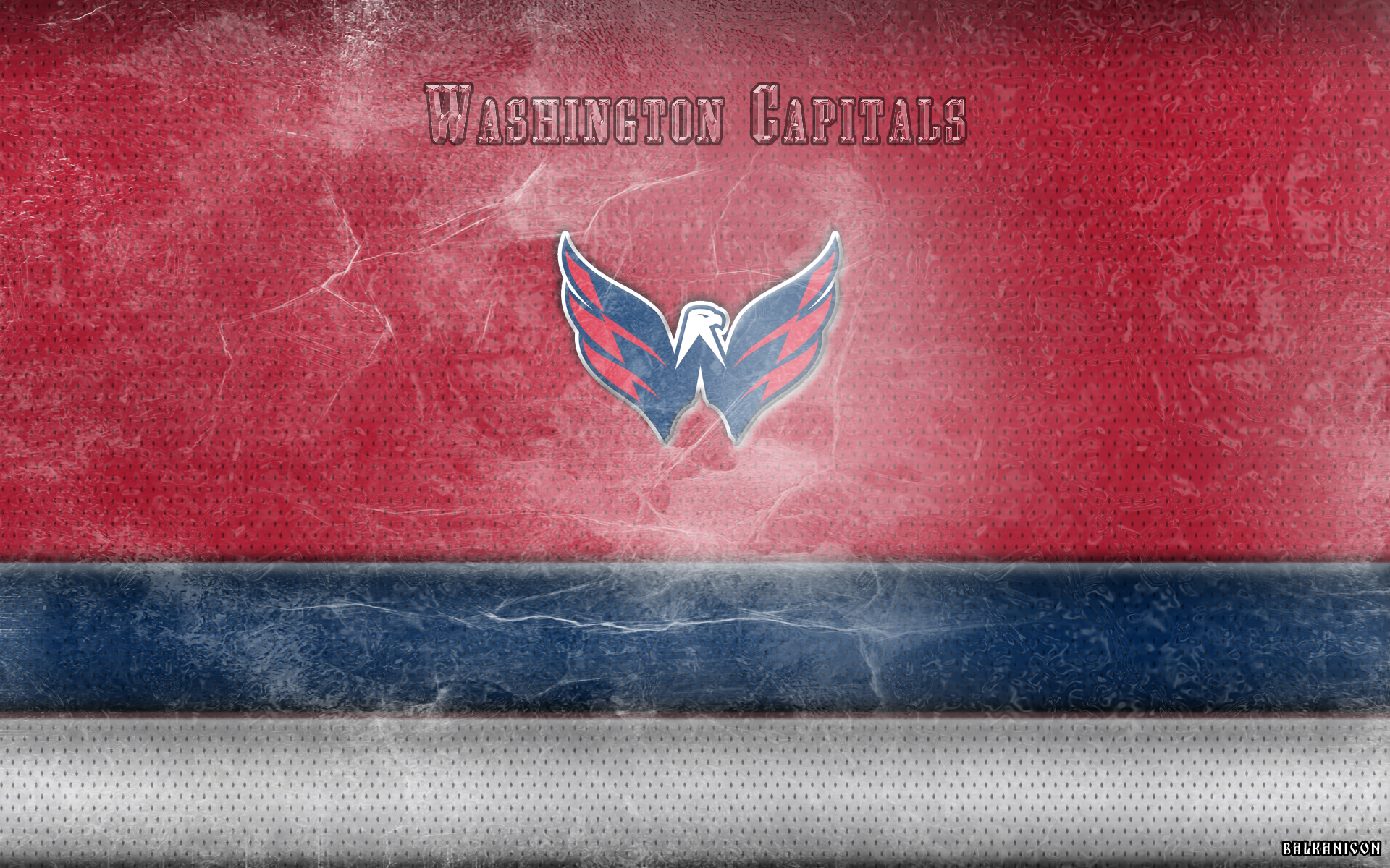 washington capitals wallpaper by balkanicon fan art wallpaper other 1920x1200