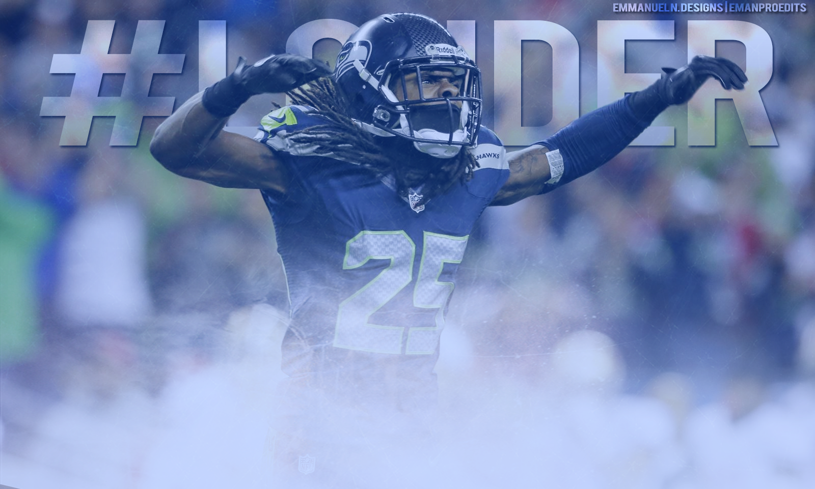 Richard Sherman Wallpaper by emanproedits 1600x961