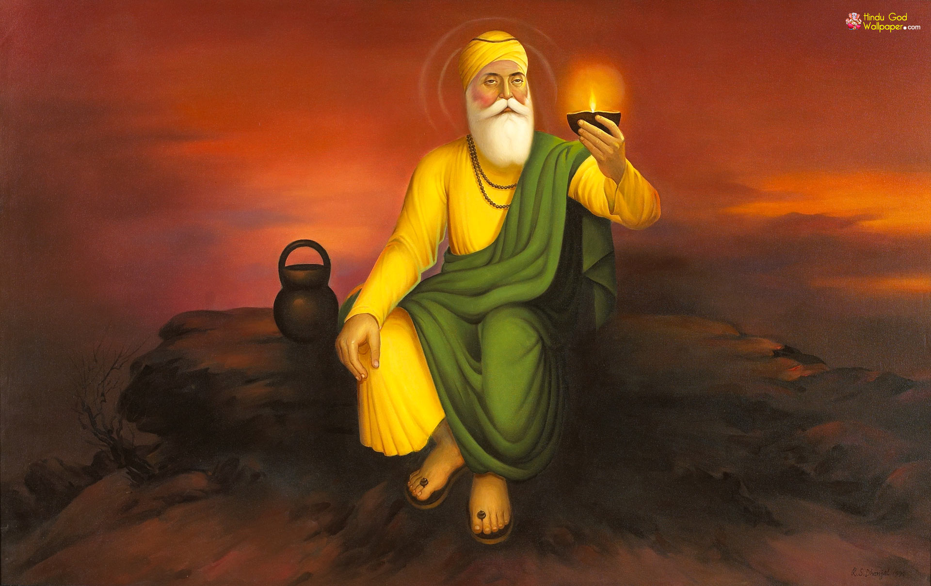 Oldest Picture of Guru Nanak Ji FOUND - WHAT S. - Sikh Sangat Original pictures of sikh gurus