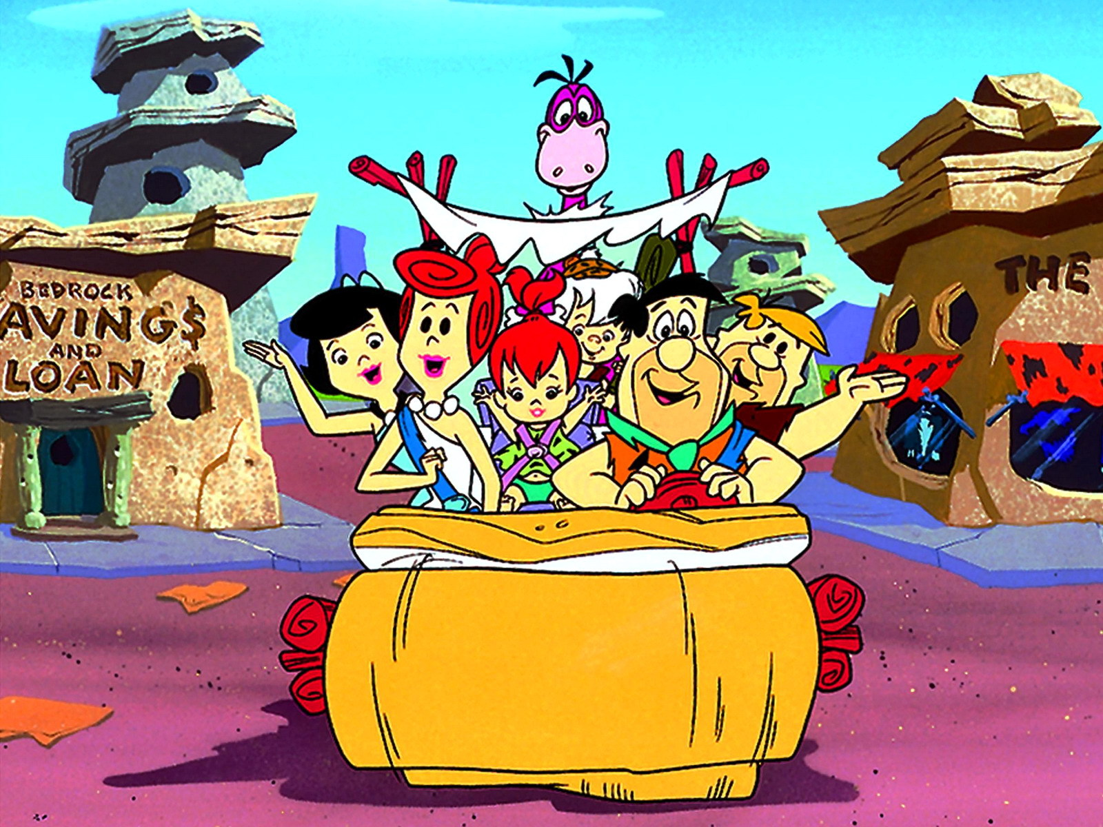 Flintstone wallpapers and images   wallpapers pictures photos 1600x1200